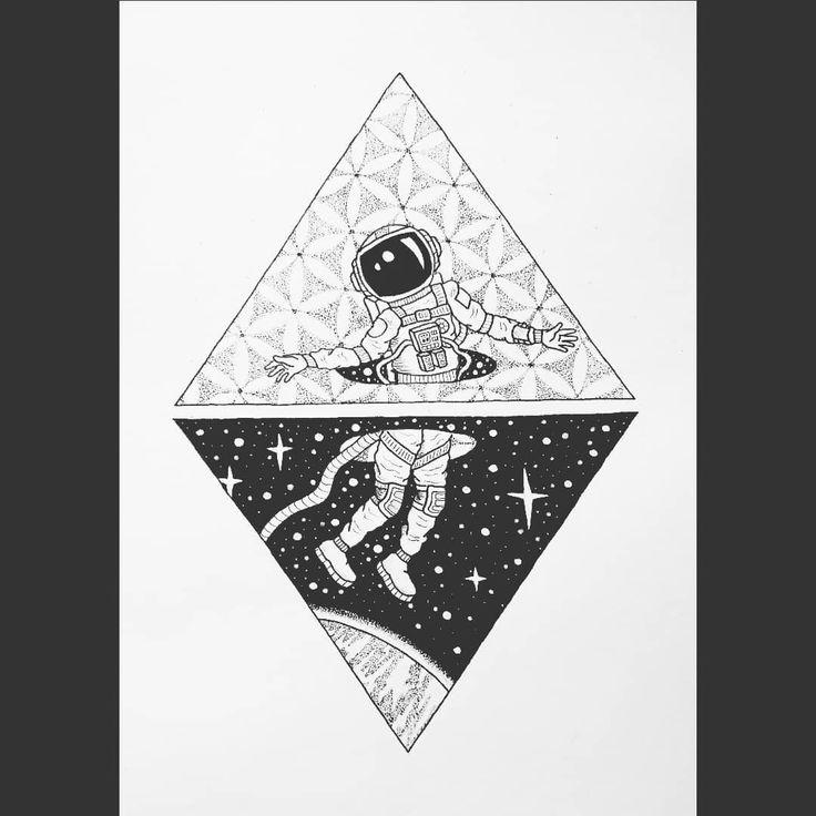 "Rosie c on Instagram: ""The 5th dimension . . . #tattoo #tattoos #blackink #ink #inkspiration #blackinkwork #tattooideas #instatattoos #linework #dotwork…"""