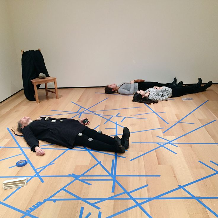 Marilyn Arsem - 100 Ways to Consider Time, Museum of Fine Arts, Boston, 2015