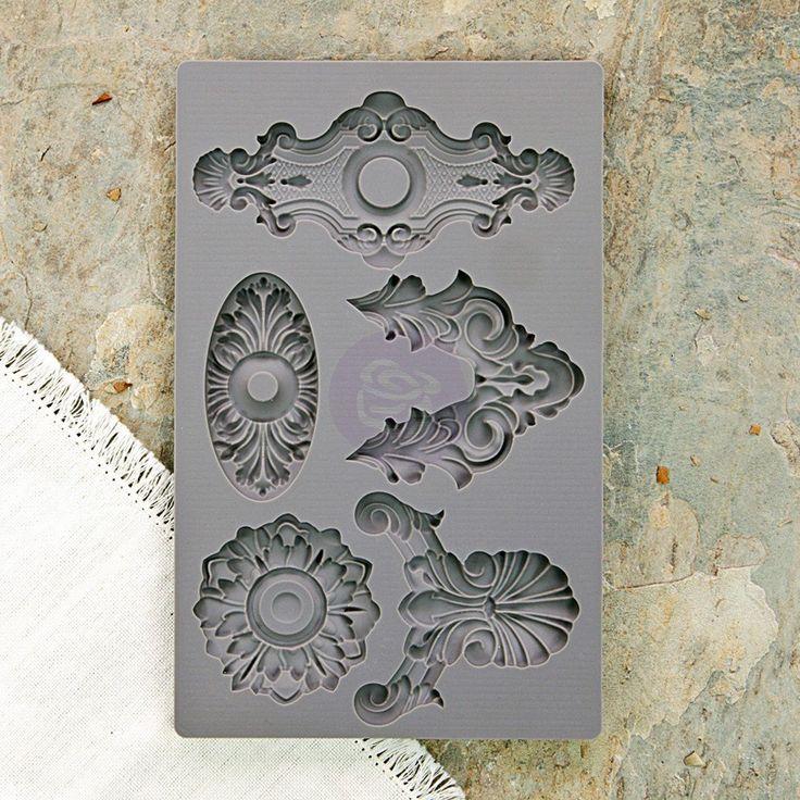 Iron Orchid Designs Vintage Art Decor Mould - Escutcheons 2