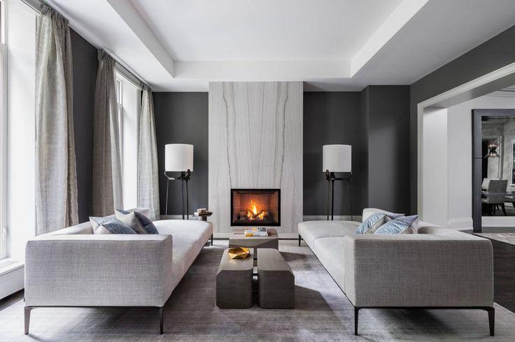 Des canapés originaux. #décoration #contemporaine #inspiration #luxe