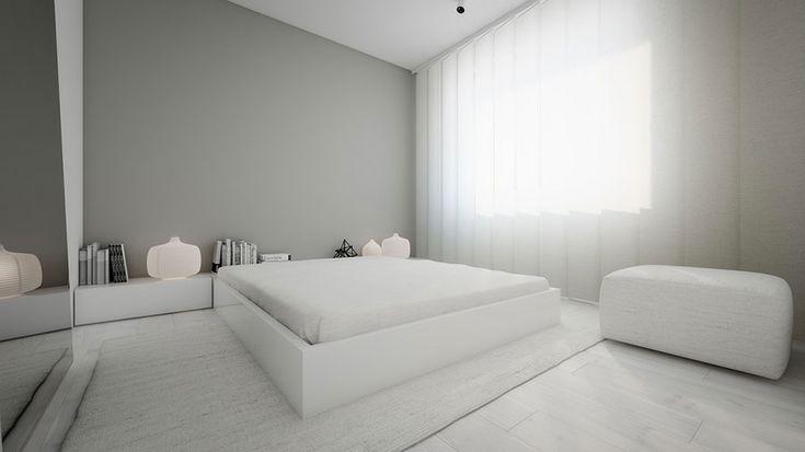 Camera da letto minimal 22