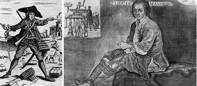 26 mai 1755 ♦ Le bandit Louis Mandrin est roué vif à Valence après sa capture en Savoie.
