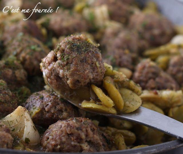 C'est ma fournée !: Les boulettes de boeuf aux fèves et au citron d'Ottolenghi