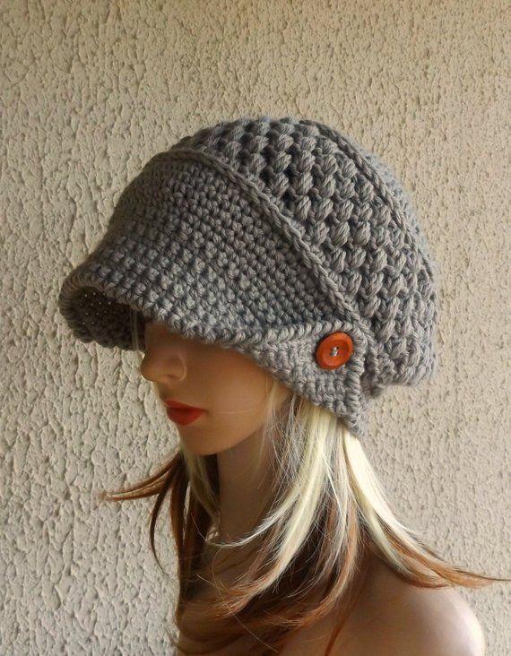 506de268bea Crochet hat has been Handmade Merino Wool and perfect for Gift Ideas ...