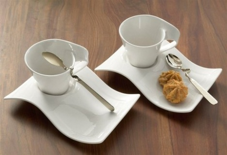 Cappuccino set villeroy boch new wave tableware for Villeroy boch wave