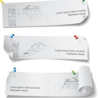Download free high quality Vectors, Architecture banner template, no waiting time required! Fast download.