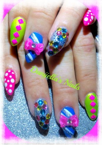 26 best ugly nails images on Pinterest | Nail scissors, Nail art ...