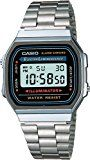 #8: Casio Collection  Reloj Unisex Digital con Correa de Acero Inoxidable  A168WA-1YES