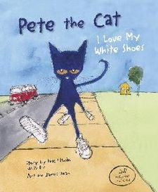 Pete the Cat: I Love My White Shoes wikiWhite Shoes, Peter O'Tool, Petecov Jpg, James Dean, Book Covers, Pete The Cats,  Dust Covers, Book Jackets, Children Book