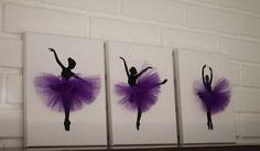 Bailarina vivero vivero gris púrpura bailarina por JoanitaBonita