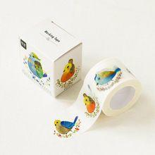 1 sztuk 30mm X 10 m Śliczne Ptaki Stream Dekoracyjne Taśma Maskująca Taśma Klejąca Taśma Washi Diy Scrapbooking Szkoły z artykułami Biurowymi(China (Mainland))