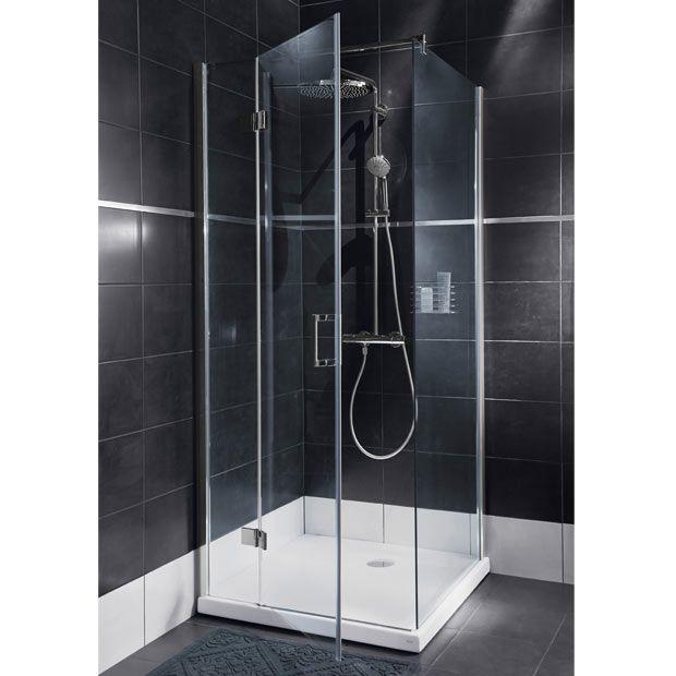 Composer l espace douche de votre salle de bain palaces - Porte de douche ikea ...