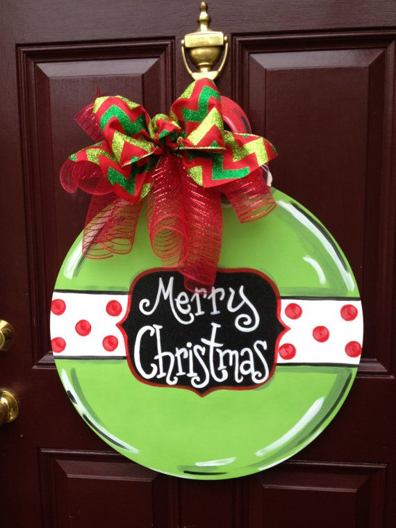 227 best ChristmasLarge Painted Ornaments images on Pinterest