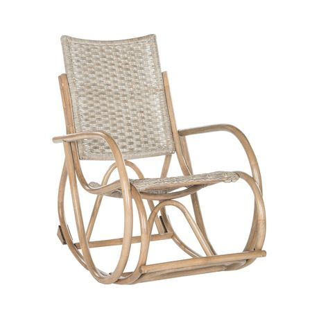 Get lost in all the loops and swirls of this design. Rattan and wood come together to deliver a marvelously old-school, Quaker-style seat. The Angeline Rocking Chair brings a little taste of early Amer...  Find the Angeline Rocking Chair, as seen in the Why Parisians Were the First Bohemians Collection at http://dotandbo.com/collections/why-parisians-were-the-first-bohemians?utm_source=pinterest&utm_medium=organic&db_sku=118597