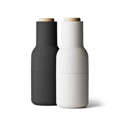 Bottle suola- ja pippurimyllysetti, harmaa, Menu