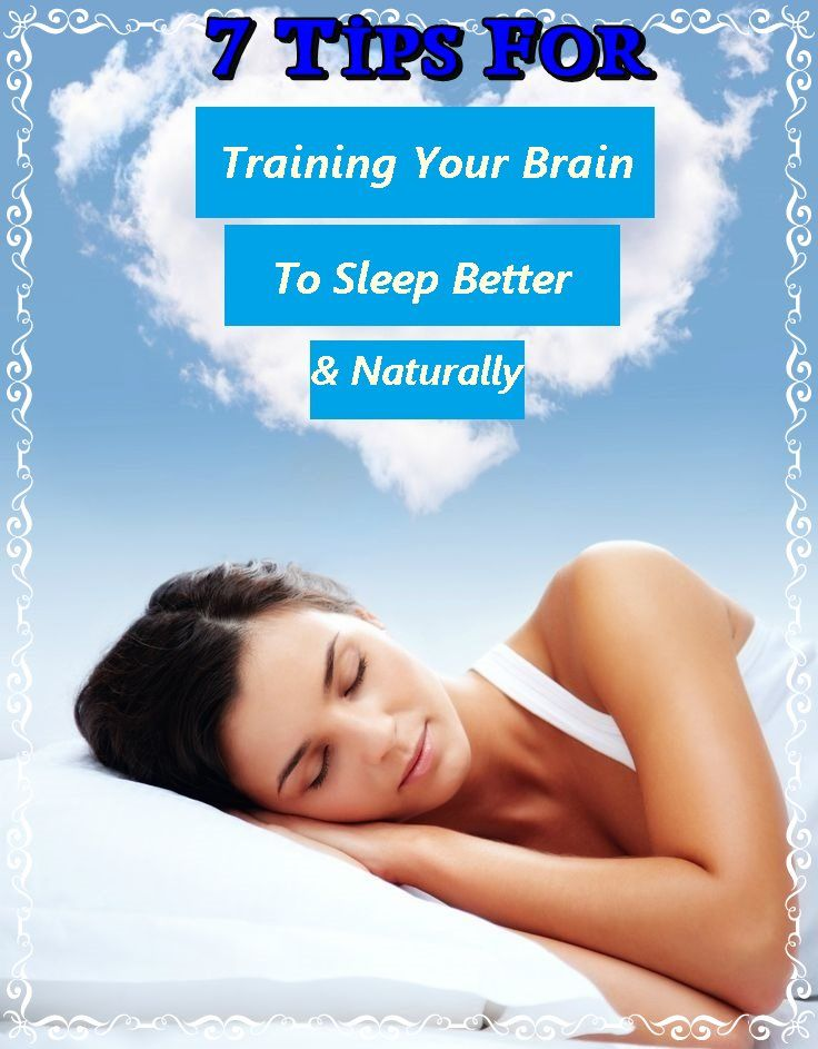 7 Tips For Training Your Brain To Sleep Better & Naturally | Thin Ladies Fitness