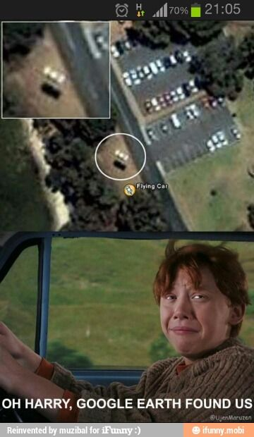 They found us, Harry