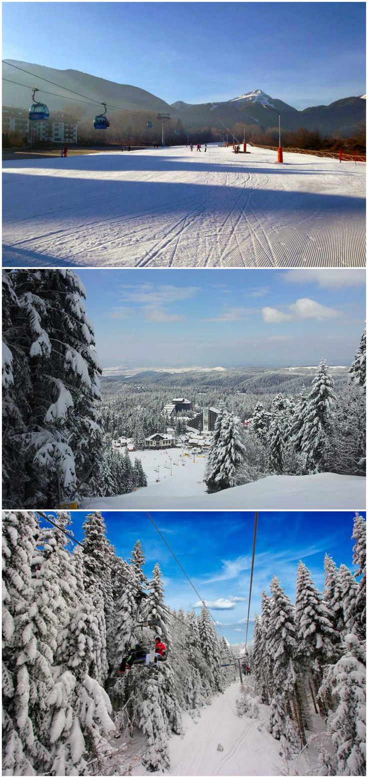 [The Best] Ski Resorts in BULGARIA & Best Way to get there: