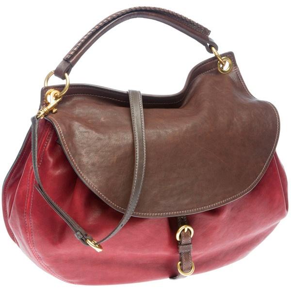 Miu Miu Red Fringe Bag