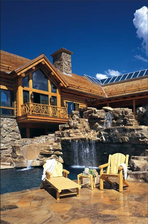 475 best images about rustic homes on pinterest timber for Cabin builders montana
