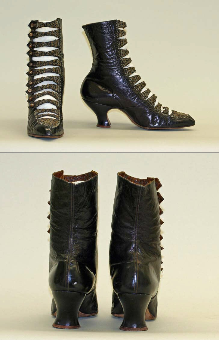 [American] Leather Shoes (ca. 1905)
