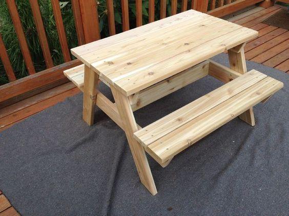 Kidsu0027 Picnic Table
