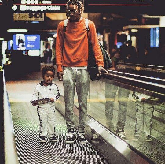 Wiz Khalifa x his son Bash