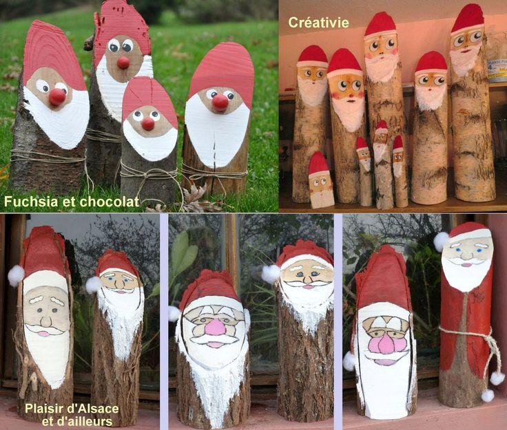 17 meilleures id es propos de bonhommes de neige en bois - Fabriquer des objets de noel ...