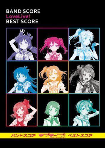 Band Score Love Live! Best Score Anime Sheet Music