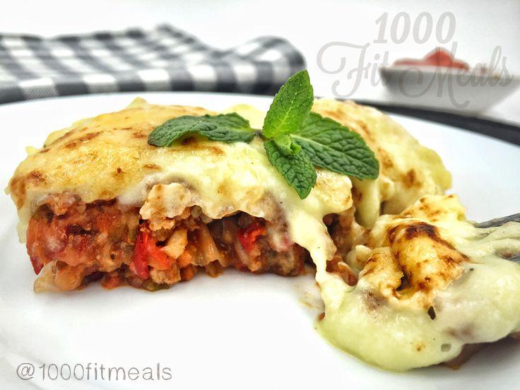 1000 Fit Meals: RECETA FITNESS: Lasaña con bechamel ligera de calabacín: Sin…