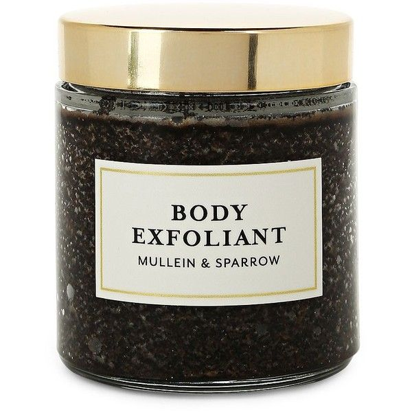 Mullein & Sparrow Coffee & Mint Body Exfoliant (€14) ❤ liked on Polyvore featuring beauty products, bath & body products and body cleansers