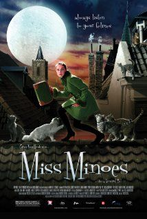 Miss Minoes  (2001)  A cat who turns into a young woman helps a journalist protect their town from a factory boss with an evil plan.    Director: Vincent Bal  Writers: Annie M.G. Schmidt (novel), Tamara Bos (screenplay), and 2 more credits »  Stars: Carice van Houten, Theo Maassen and Sarah Bannier