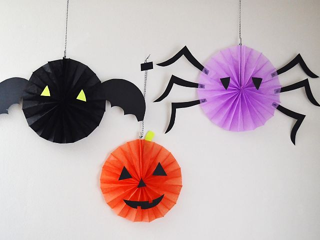 diy paper decorations for halloween