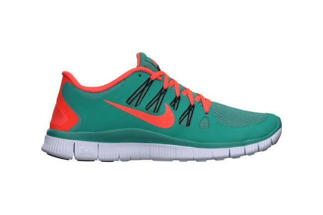#Nike Free 5.0+, a top seller among our audience. The bold colors and light weight make for the perfect #running #shoe