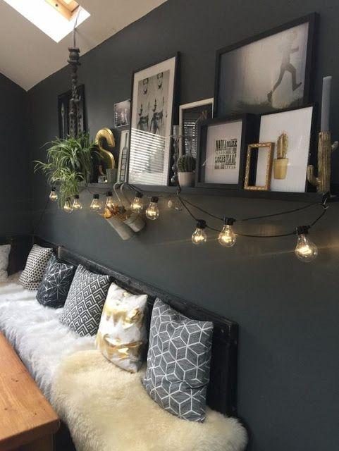 Pensando em escurecer a sua parede? Cinza chumbo é uma excelente opção! No post de hoje inspirações maravilhosas!