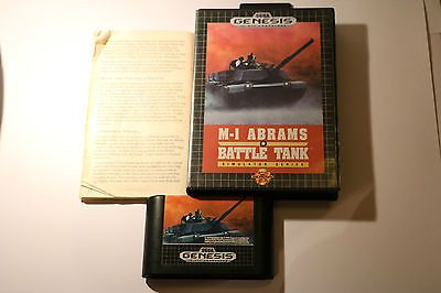 sega mega #drive #genesis systems m-1 #abrams battle tank simulator series 1991,  View more on the LINK: 	http://www.zeppy.io/product/gb/2/262361098888/