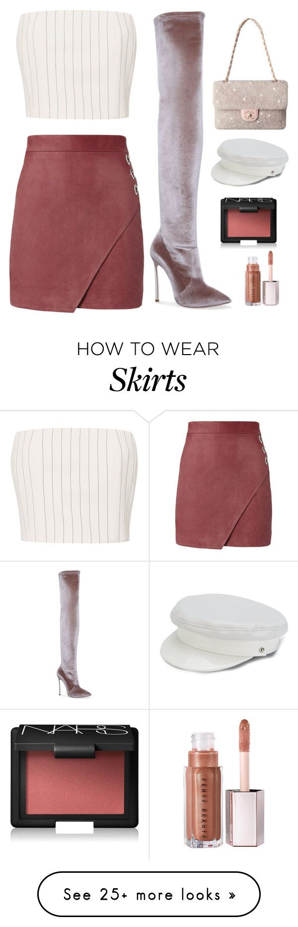 """""""Untitled #175"""" by minia001 on Polyvore featuring Thierry Mugler, Michelle Mason, Casadei, Manokhi and NARS Cosmetics"""