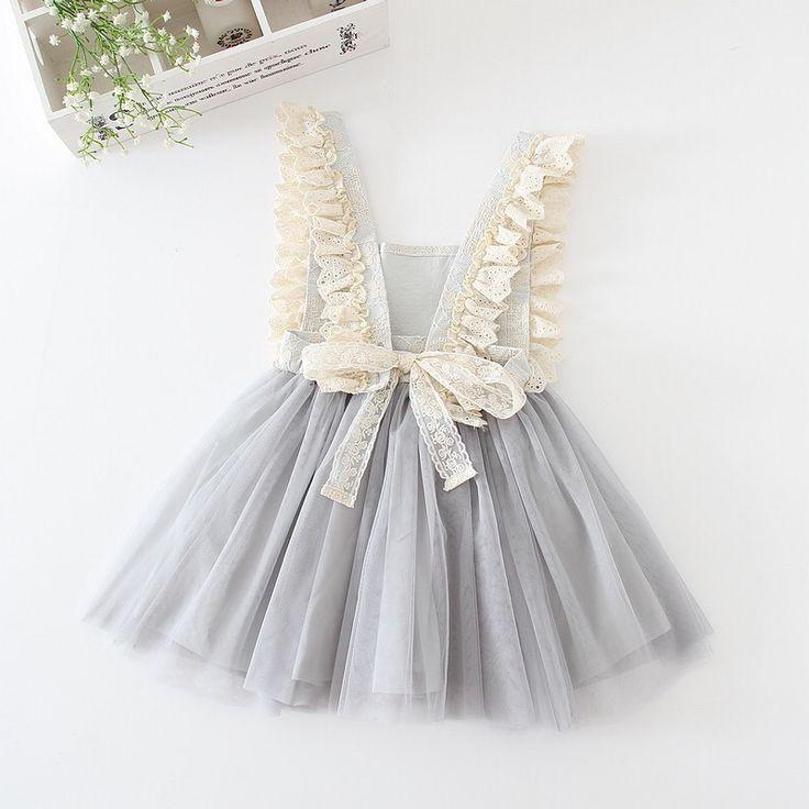 Trista - Overall Tutu Dress