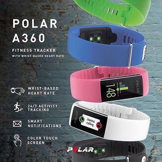 Polar A360 Fitness Tracker | Polar Global