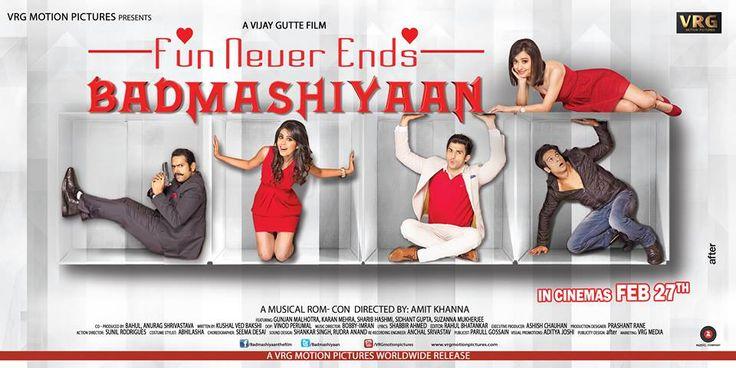 Badmashiyaan - Movie Official Trailer | Latest Hindi Movies