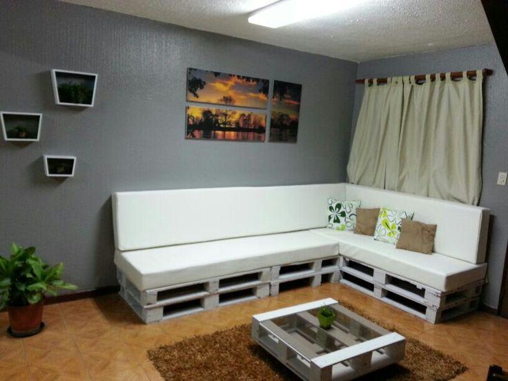 8 mejores im genes de pallets furniture muebles de for Muebles de tarimas recicladas