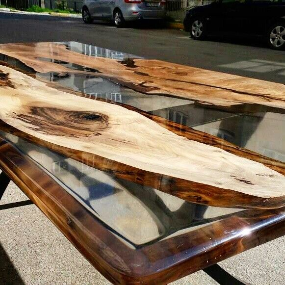 100 Best Resin Wood Table Images On Pinterest Epoxy