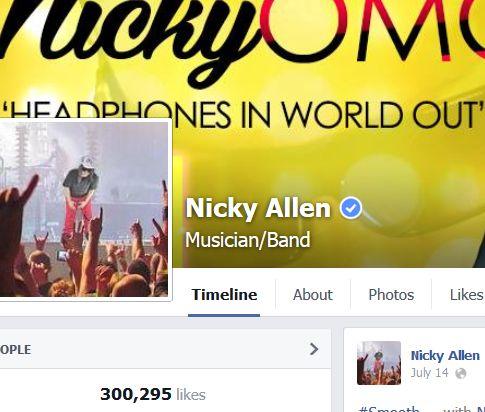 Facebook.com/nickyomg  Nicky OMG music!