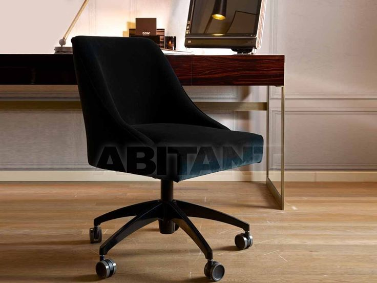 Кресло для кабинета Dom Edizioni Dinner Chair VICKY SU RUOTE в наличии, продавец - d'Augusto Boutique, Москва. Рабочие кресла в интернет-магазине ABITANT
