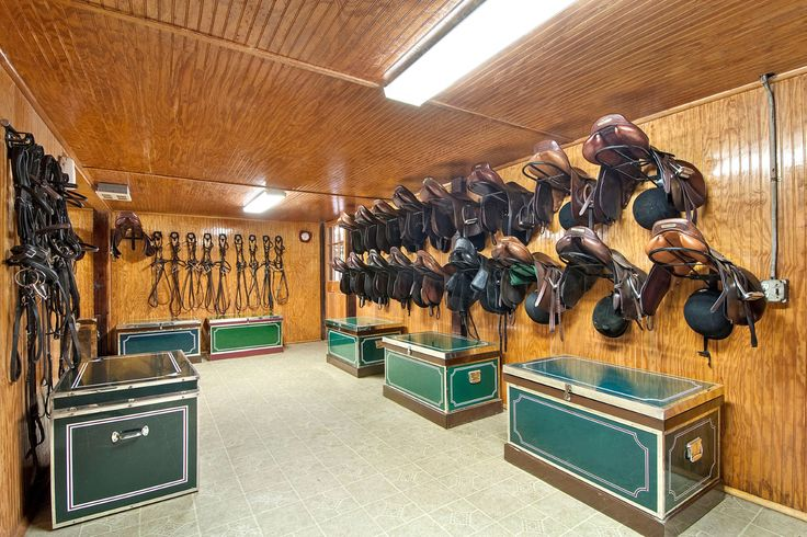 186 Best Images About Stable Interiors Tack Room On