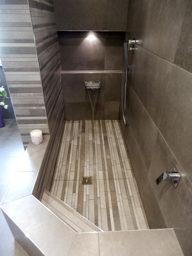 Vasca doccia in muratura qz69 regardsdefemmes - Idee bagno con doccia ...