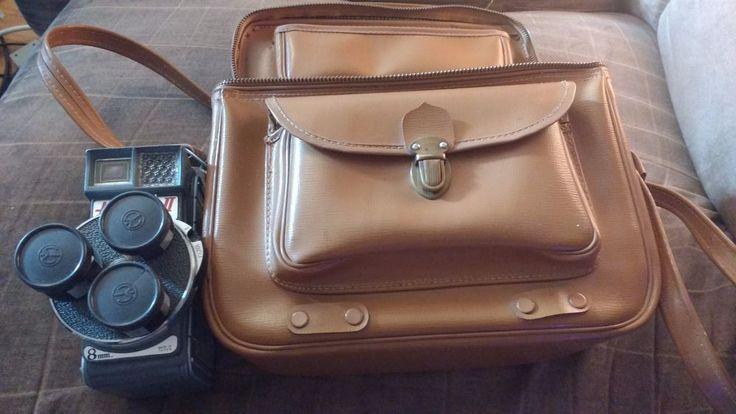 Holiday II 8mm vintage camera with  bag | eBay