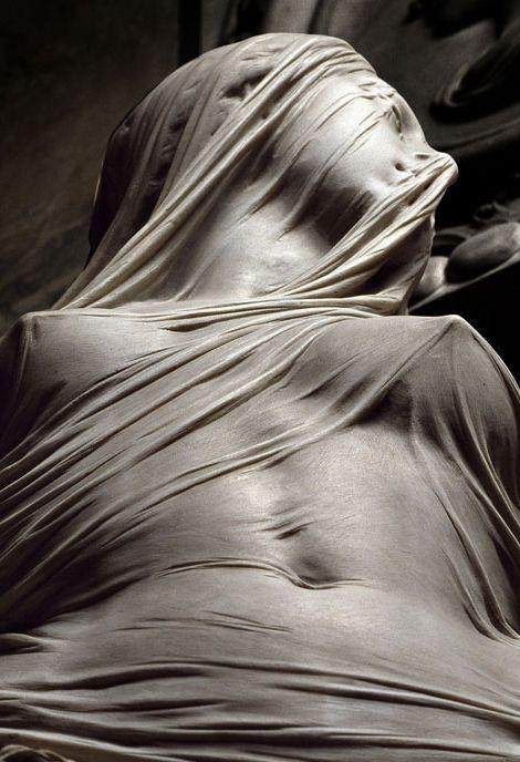 """Veiled truth"" is one of the masterpieces of Venetian sculptor Antonio Corradini…"