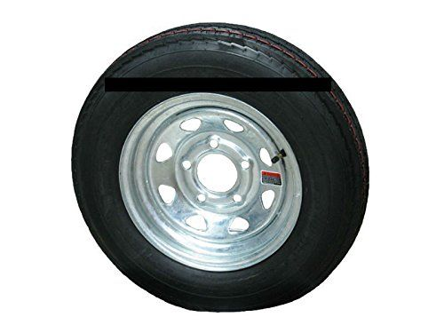 "5.30-12 LRC 6 PR Eco-Trail Bias Trailer Tire on 12"" 5 Lug Galvanized Spoke Wheel  https://www.safetygearhq.com/product/tyre-shop-tire-warehouse/5-30-12-lrc-6-pr-eco-trail-bias-trailer-tire-on-12-5-lug-galvanized-spoke-wheel/"