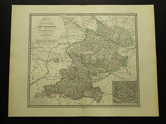 14 best Antique maps of Austria images on Pinterest Antique maps